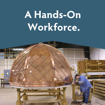 A hands-on workforce.